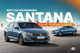 Volkswagen Santana Daily Driver