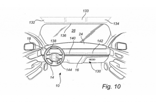Volvo steering wheel patent