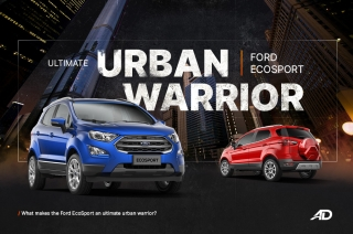 What makes the Ford EcoSport an ultimate urban warrior