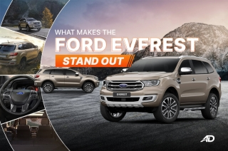 What makes the Ford Everest stand out in the Philippines