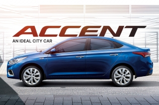 What makes the Hyundai Accent an ideal city car