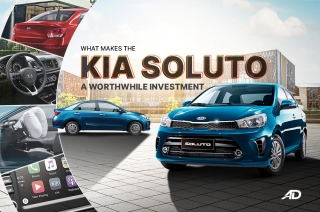 What makes the Kia Soluto a great value for money option