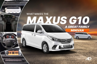 What makes the Maxus G10 a great family minivan