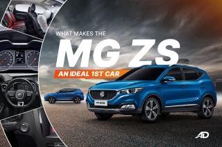 What makes the MG ZS an ideal first car