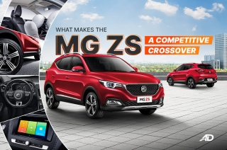 What makes the MG ZS competitive