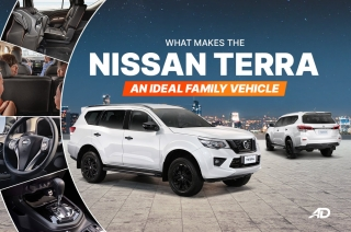 What makes the Nissan Terra an ideal family vehicle
