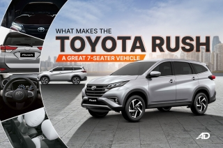 What makes the Toyota Rush a great vehicle
