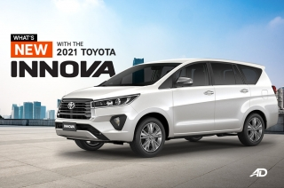 What's new with the 2021 Toyota Innova