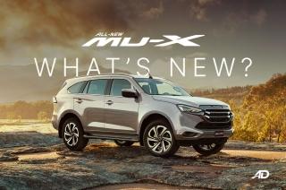 What's new with the 2022 Isuzu mu-X?
