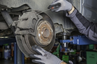 When do you need to replace your brake pads or brake shoes?