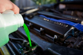 When is the best time to check your engine coolant?