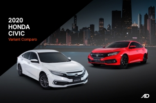 Which 2020 Honda Civic to buy? – Variant Comparison Guide