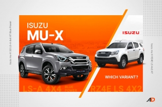 Which 2020 Isuzu mu-X to buy? – Variant Comparison Guide