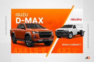 Which 2021 Isuzu D-MAX to Buy - Variant Comparison Guide