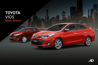 Which Variant 2020 Toyota Vios