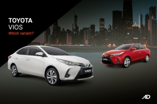 Which variant 2021 Toyota Vios Philippines