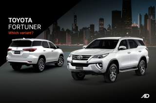 Which Variant? Fortuner