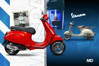 Why a Vespa isn't just another scooter