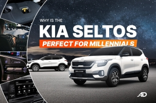 Why is the Kia Seltos perfect for millennials