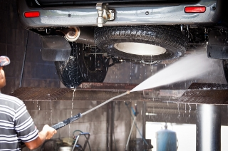 Why you should clean the underside of your car