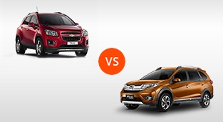 Chevrolet Trax 1.4 LT AT vs. Honda BR-V 1.5 V Navi CVT