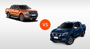 Ford Ranger Wildtrak 2.2L 4X4 AT vs. Nissan Navara 4X4 VL Sport Edition AT