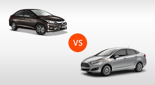 Honda City 1.5 E CVT vs. Ford Fiesta Sedan 1.5 Trend AT