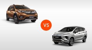Honda BR-V 1.5 V Navi CVT vs. Mitsubishi Xpander GLS Sport AT