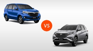 Toyota Avanza 1.5 G AT vs. Toyota Rush 1.5 G AT