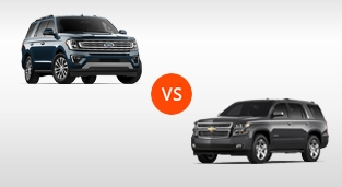 Chevrolet Suburban 5.3 4x4 LTZ vs. Ford Expedition 3.5 Limited MAX 4WD with Bucket Seats