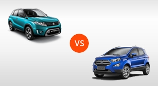 Suzuki Vitara GLX AT vs. Ford EcoSport 1.5 Trend AT