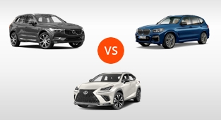 Lexus NX 300 F Sport vs. BMW X3 xDrive20d M Sport vs. Volvo XC60 2.0 D4 AWD AT