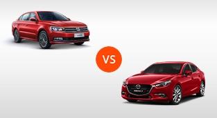 Mazda 3 Sedan 1.5 SkyActiv V AT vs. Volkswagen Lavida 1.4 230 TSI Comfortline DSG