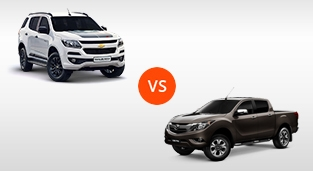 Mazda BT-50 3.2 4x4 AT vs. Chevrolet Trailblazer 2.8 4x4 Z71 AT