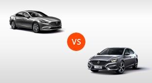 MG 6 Trophy AT vs. Mazda 6 Sedan 2.5 AT Gasoline