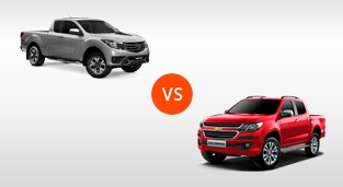 Mazda BT-50 3.2 4x4 AT vs. Chevrolet Colorado 2.8 4x4 AT LTZ