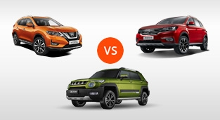 Nissan X-Trail 2.0 4x2 CVT vs. BAIC BJ20 Luxury 1.5 CVT vs. MG RX5 Style AT