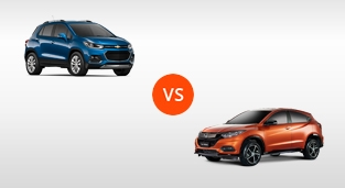 Chevrolet Trax 1.4 LT AT vs. Honda HR-V 1.8 RS Navi CVT