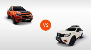 Chevrolet Colorado 2.8 4x4 AT High Country Storm vs. Nissan Navara 4x4 VL AT N-Warrior