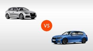 BMW 1-Series Hatchback 118i M Sport vs. Audi A3 Hatchback 1.8 TFSI