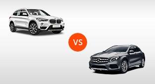 BMW X1 xDrive20d xLine vs. Mercedes-Benz GLA AMG 45 4MATIC