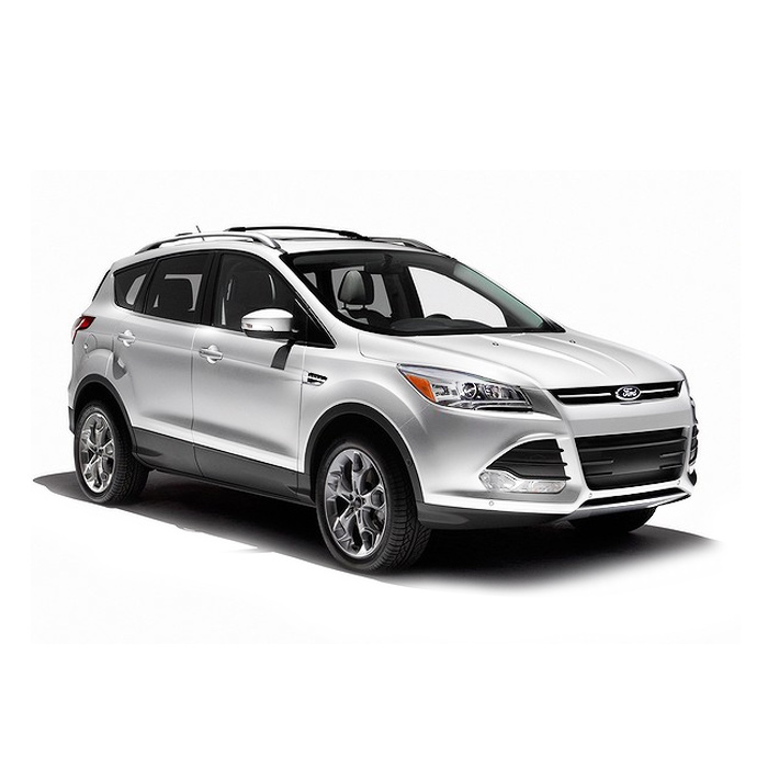 Ford Escape White Platinum