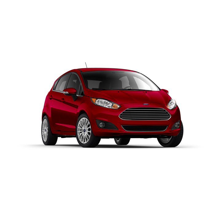 Ford Fiesta Hatchback Candy Red