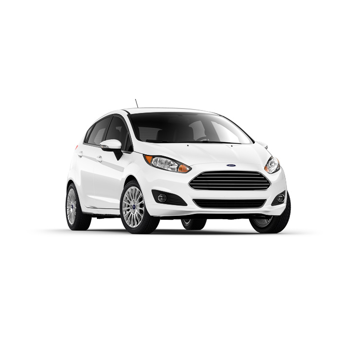 Ford Fiesta Hatchback Frozen White