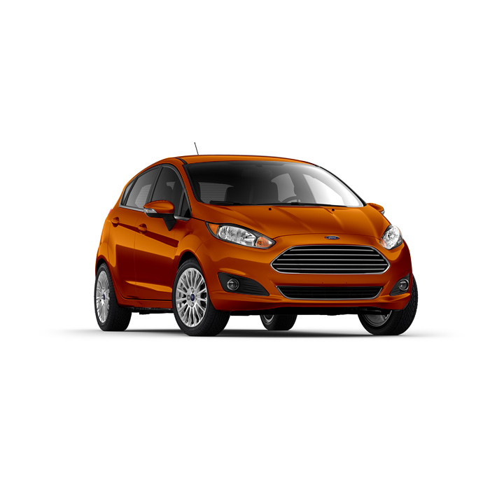 Ford Fiesta Hatchback Mars Red