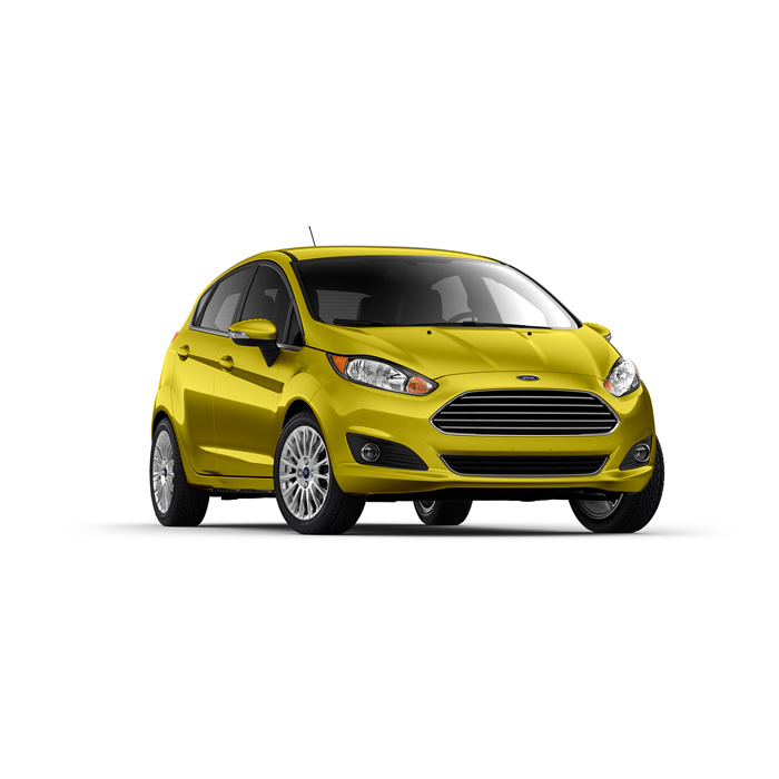 Ford Fiesta Hatchback Mustard Olive