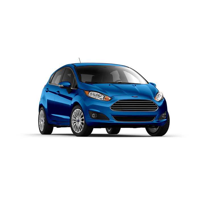 Ford Fiesta Hatchback Winning Blue