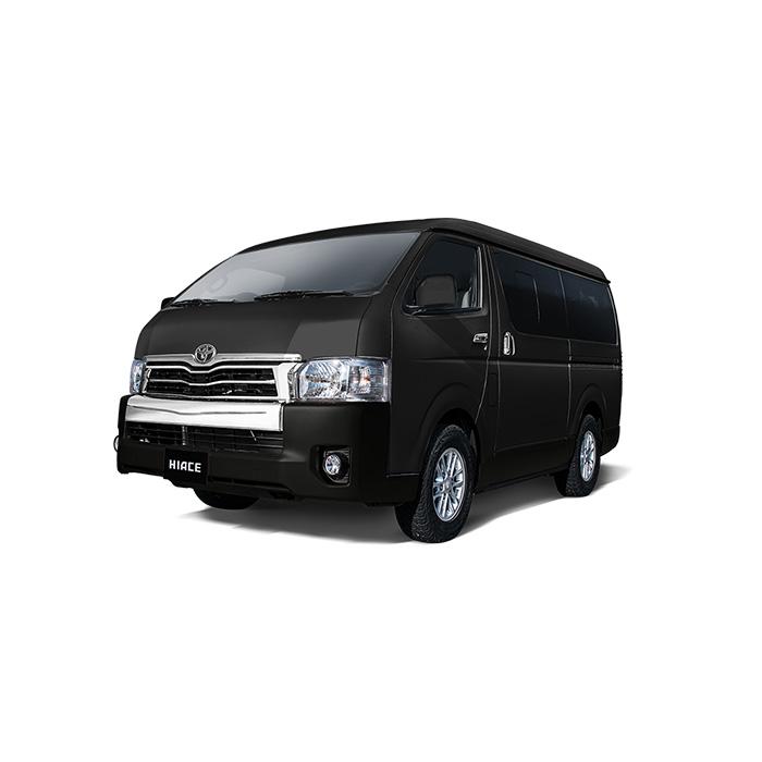 Toyota Hiace Black Mica