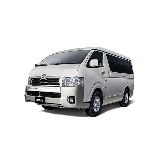 Toyota Hiace Silver Metallic