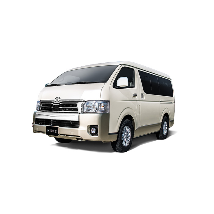 Toyota Hiace White Pearl Two Tone